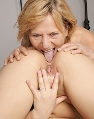 Mature Frederica gets a naughty date with young Rashinda