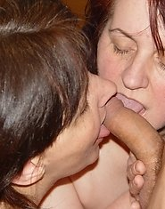 Horny mature women and one kinky dude