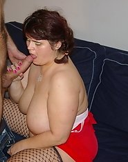 Big titted housewife taking on a big hard cock