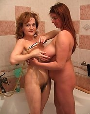 This big titted slut gets nasty with her kinky girlfriend