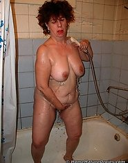 Mom done in shower