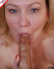Chunky american housewife is ready for some cock